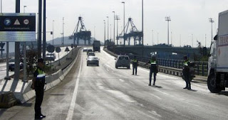 Controles Policía Portuaria