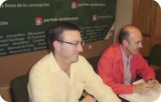 Ángel Villar y Alfonso Linares