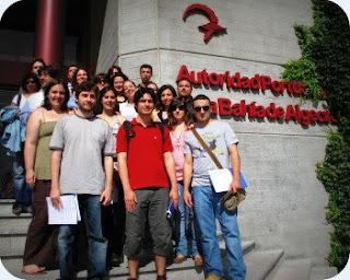 Máster Oficial en Gestión Portuaria y Logística que imparte la Universidad de Cádiz y los estudiantes portugueses de Geografía y Ordenación del Territorio de la Universidad de Lisboa