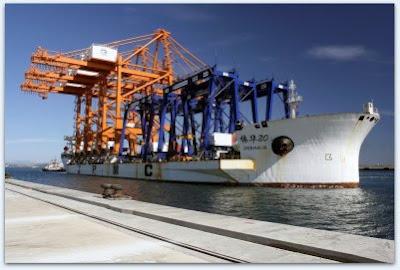 Puerto de Algeciras llegada 6 primeras ASC TTIA