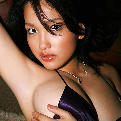 She's one of the few gravure idols to have done any nude modeling, ...