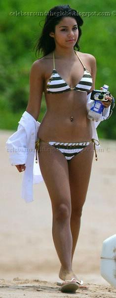 bryce harper vanessa hudgens in bikini   hot papparazi pics