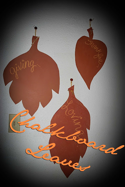 leaf5 Chalk Board Fall Leaves ~ Tutorial