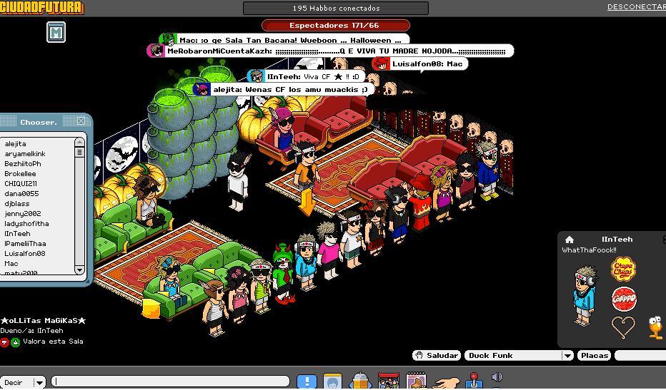 Nuestra capacidad de salas de chat para adolescentes