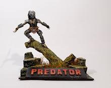 Predator paper mache Diorama