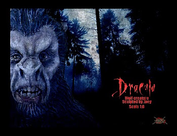 Dracula Wolf Creature Bust Video
