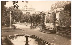 Parc Balmes a Vic a principis de segle XX