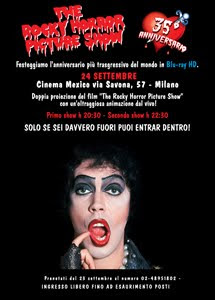 The rocky horror picture show gratis a milano