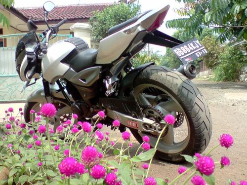 MODIFIKASI BAJAJ PULSAR 180CC, MODIFIKASI MOTOR