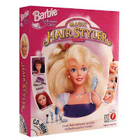 Barbie Hair Cutting Games on Barbie Magic Hair Styler Choose Either Barbie Kira Christie Or Teresa