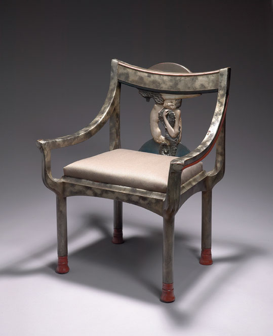 aestheticus rex of serpents and sirens rare eileen gray chair on
