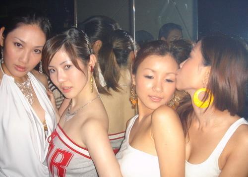 Ladys night in pose