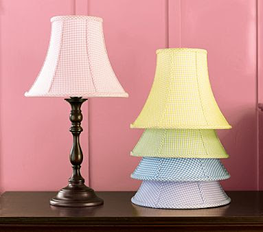 Pottery barn kids bell gingham shade and peyton lamp base decor pottery barn kids bell gingham shade and peyton lamp base aloadofball Images
