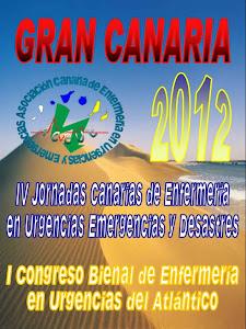 IV JORNADAS CANARIAS de ENFERMERIA en URGENCIAS, EMERGENCIAS Y DESASTRES
