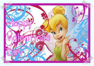 Tinkerbell valentine card disney tinkerbell valentine wishes