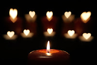 romantic valentine heart candle wallpapers