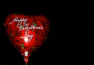 Valentine's Day Balloon Wallpaper