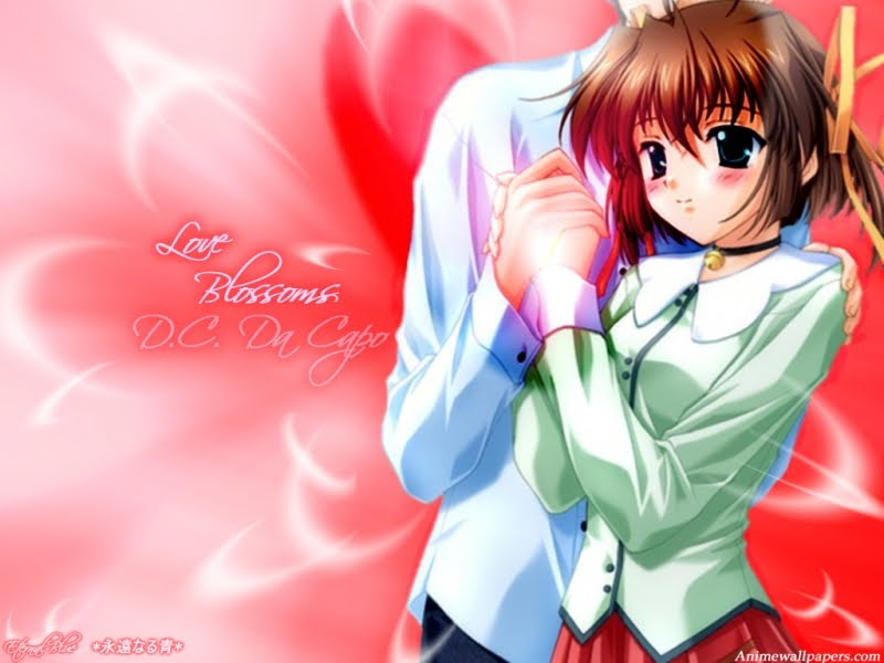 animated images of love couples. Anime Love Couple Wallpaper