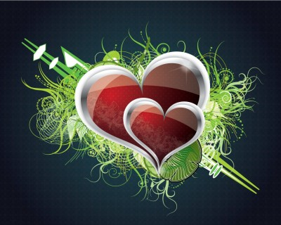 heart wallpaper. Wedding Heart wallpaper