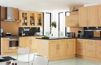 Prairie Style Kitchen Cabinets