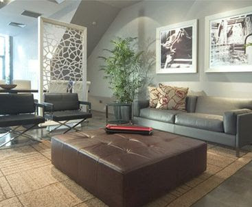 Big Sofa of Modern Living Room Design