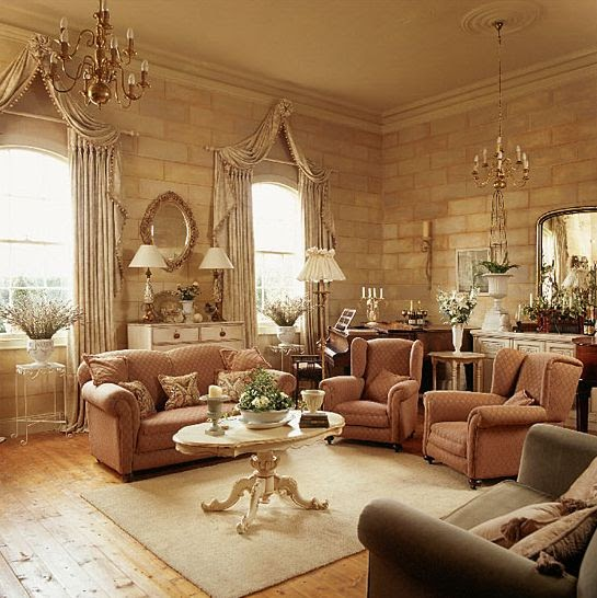 Middle east living room design for Traditional style living rooms