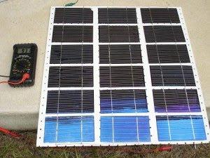 Сделать солнечную батарею своими руками фото