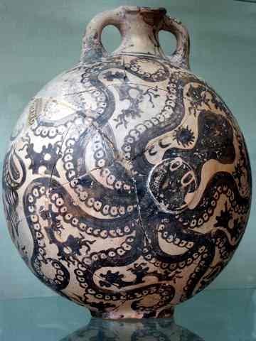 Everything Octopus Minoan Octopus Vase