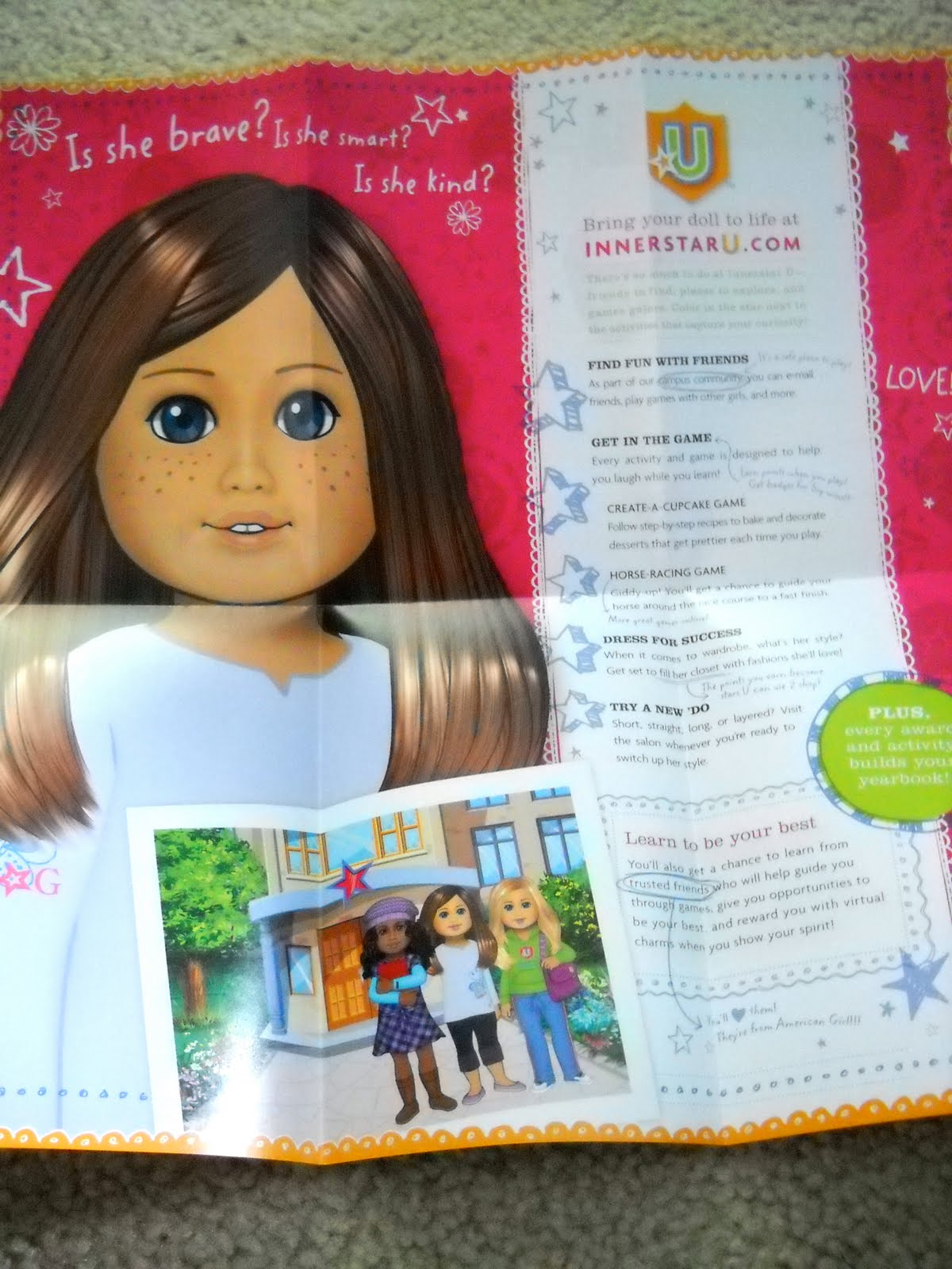A star code is an access code that comes with a new My American Girl doll to allow access to cheapwomensclothes.tk