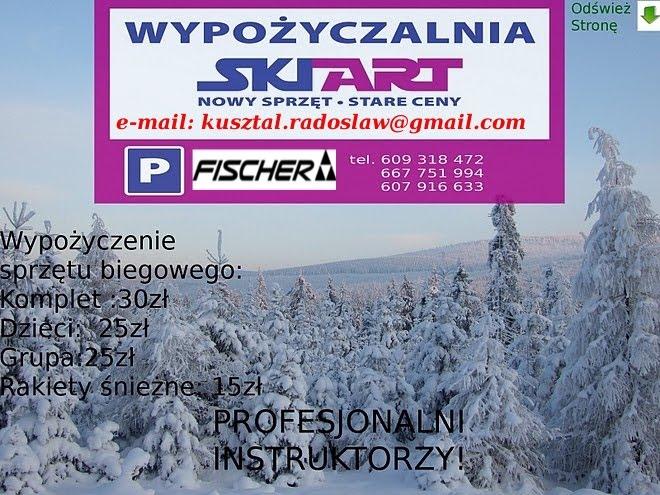 Jakuszyce Zimą