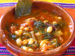 ... navy bean soup the other day okay i cheated a little i used 1 cup