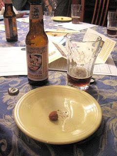 truffle with Weizen Dopplebock