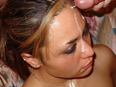 semen en la cara brasileira
