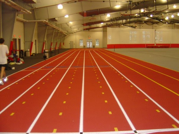 facility we use for indoor track field practice go here