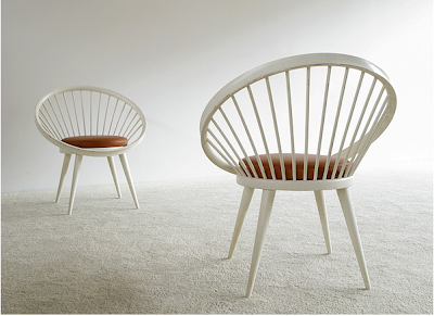 Swedish design - vintage chairs by Yngve Ekström