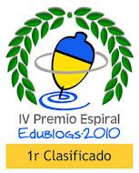 1º CLASIFICADO PREMIO ESPIRAL 2010