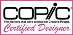 Copic Certified Designer!