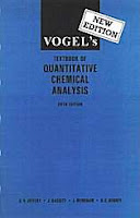 Vogel's Quantitative Chemical Analysis 5th Edition