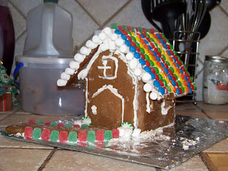 Dog Hill Kitchen: DB Gingerbread House