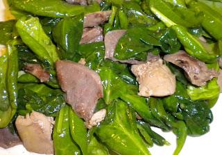 Ingredients: Duck giblets (heart, gizzard, liver) finely sliced (liver ...