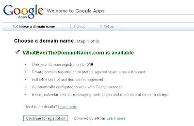custom domain final steps