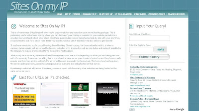 screenshot of sitesonmyip.com