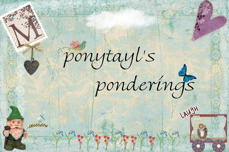 Ponytayl's Ponderings