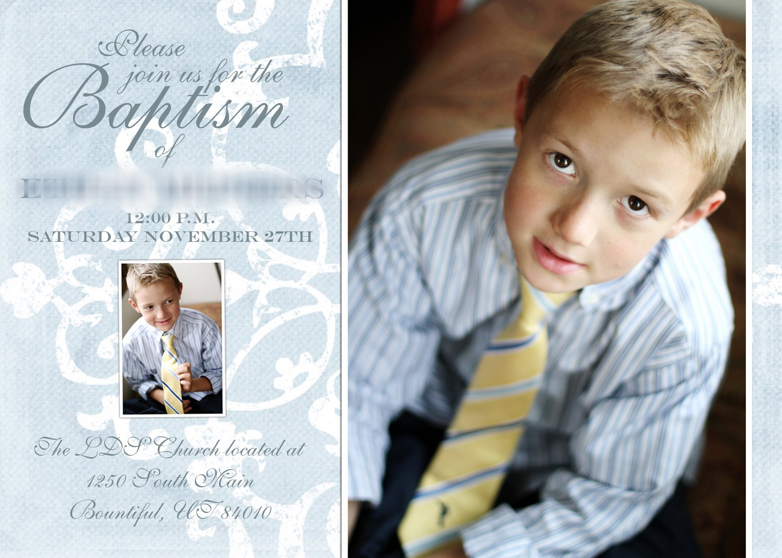 Christening Invitations Boy as great invitation example
