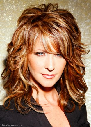 medium layered hairstyles with bangs for thick hair - fernando bosch