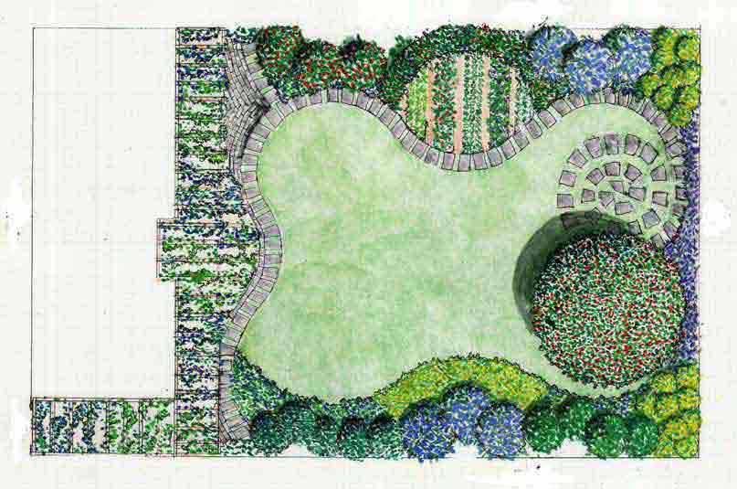Verde progetto progettazione giardini - Progetto per giardino ...