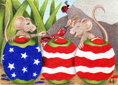 """Lil Patriots"" ACEO - SOLD"