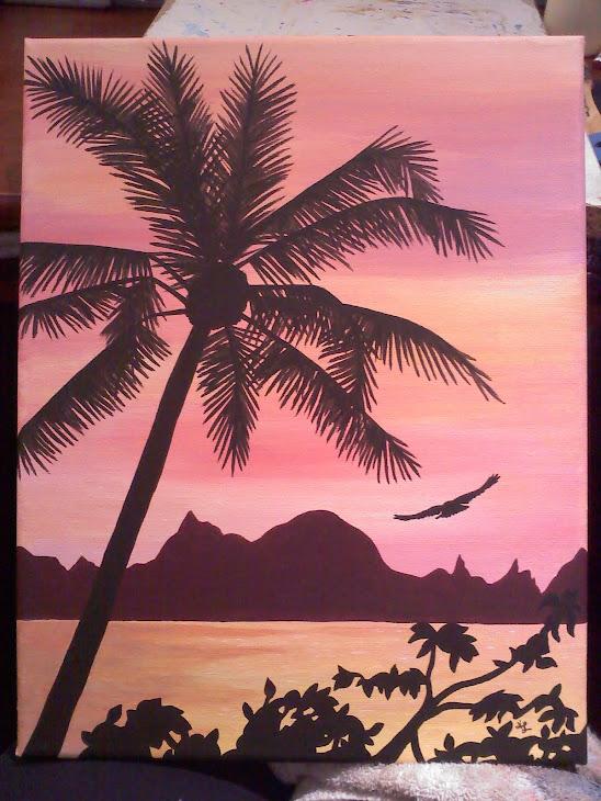 Kauai Sky painting - SOLD