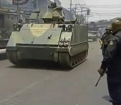 Tanques no Rio de Janeiro