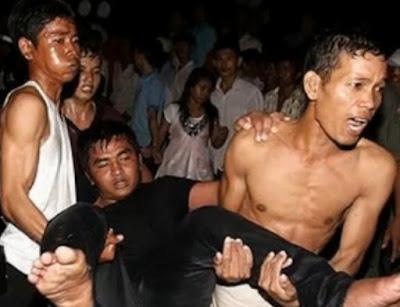 Camboja tumulto